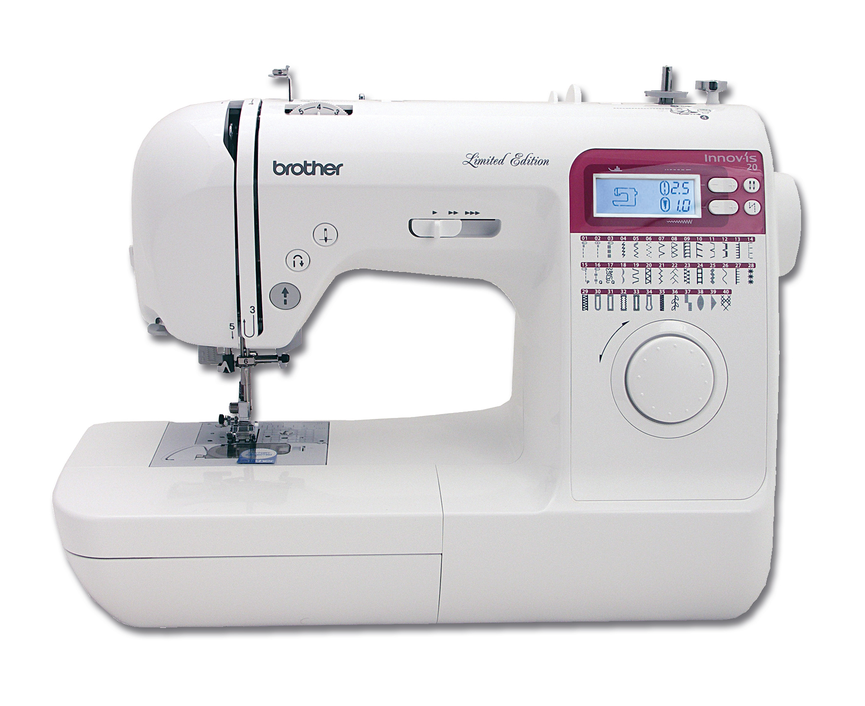 brother innov is 20le sewing machine hobkirk sewing machines ltd. Black Bedroom Furniture Sets. Home Design Ideas
