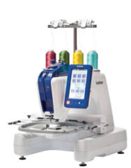 Brother VR Single Needle Embroidery & Free-motion Sewing Machine