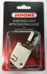Janome Even Feed Foot with Quilter Guide (Cat A)