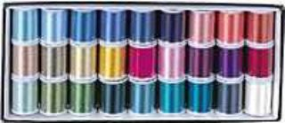 Janome Embroidery Thread Assortment Box 2 (27 x 200m spools)