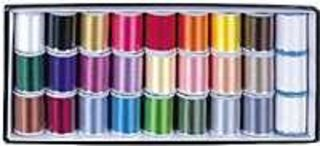 Janome Embroidery Thread Assortment Box 1 (27 x 200m spools)