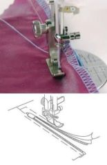 Janome Adjustable Zipper Foot for Memory Craft 1600P & 1600PQC