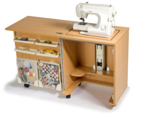 Horn Sewing Machine Cabinet - The Cub Plus