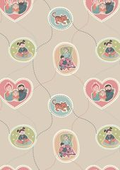 Lewis & Irene Fabric - Family (A180)