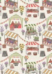 Lewis & Irene Fabric - Farmers Market (A209)