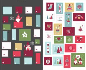 Lewis & Irene - Hygge Christmas advent calender