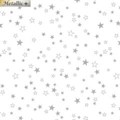 Benartex | Metallic Mixers - Stars