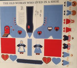 Littondale | The Old Woman Who Lived in a Shoe Retro Panel