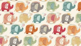Makower | Ellie Elephants