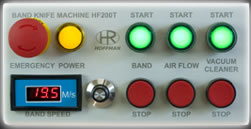 Hoffman Band Knife Standard Control Panel