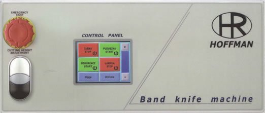 Hoffman Band Knife LCD Panel
