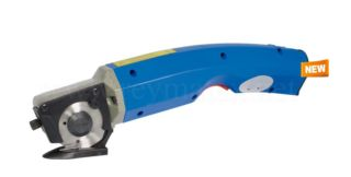 SW-1007BT Battery powered hand held round knife cutter