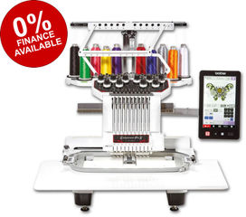 Brother PR1050X Single Head 10-Needle Embroidery Machine
