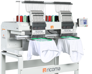 Ricoma MT1502 twin head commercial embroidery machine