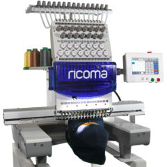 Ricoma 1501TC-7S commercial embroidery machine