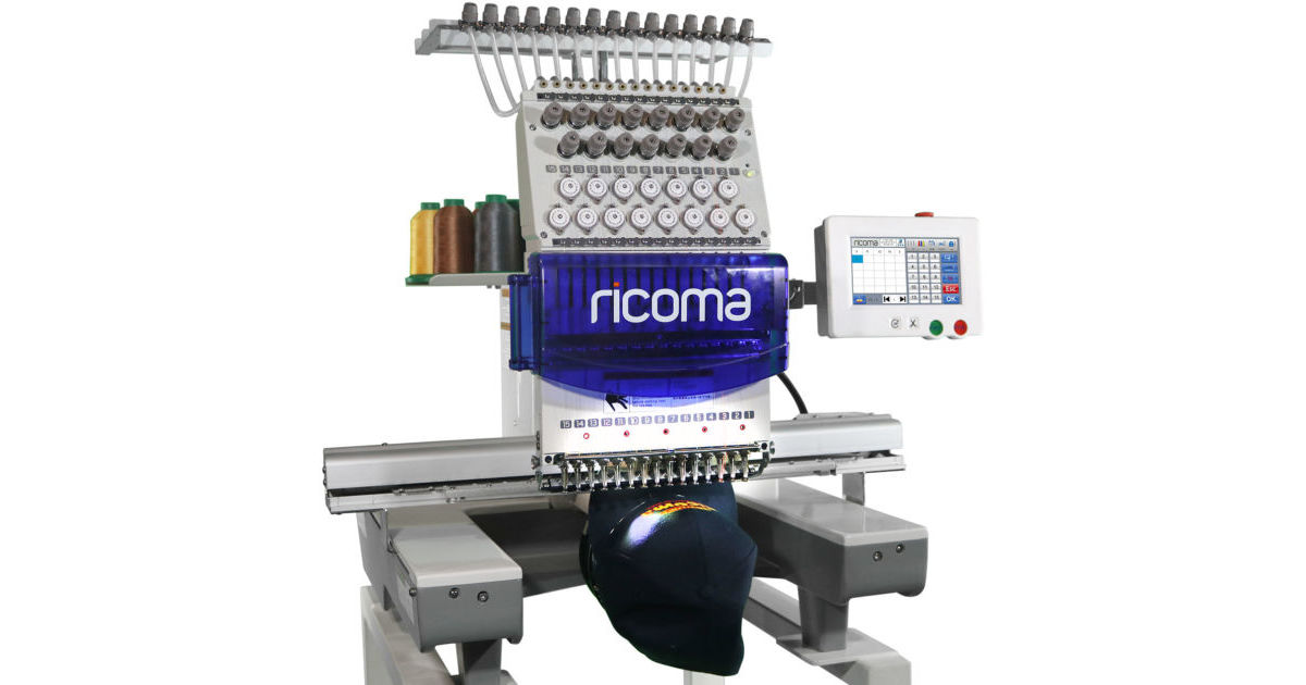 Ricoma Rcm 1501tc Commercial Embroidery Machine