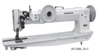 Seiko JW Series Extra Heavy Duty Long Arm Industrial Walking Foot Sewing Machine