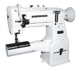 Seiko LCW -28BL Twin Needle Cylinder Arm Industrial Sewing Machine