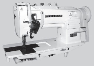 Seiko LSW Series Twin Needle Walking Foot Industrial Sewing Machine