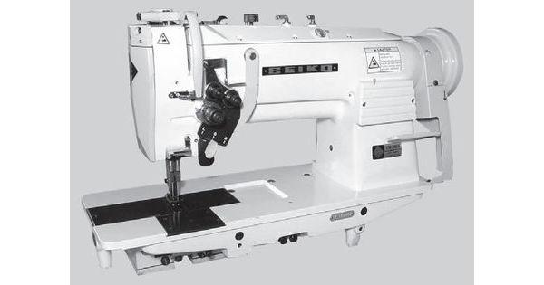Seiko Lsw28blk Twin Needle Walking Foot Industrial Sewing