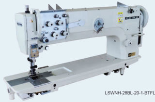 Seiko LSWNH Series High & Long Arm Industrial Walking Foot Sewing Machine
