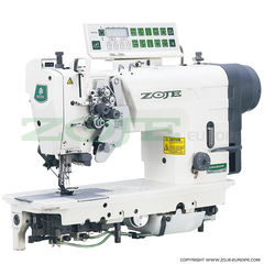 Zoje ZJ2845-BD-D3/PF Knock Out Automatic Twin Needle Industrial Sewing Machine
