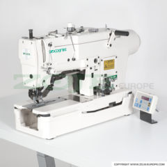 Zoje ZJ781-BD lockstitch buttonholer with direct drive motor