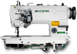 Zoje ZJ8750A Twin Needle Knock-Out Industrial Sewing Machine