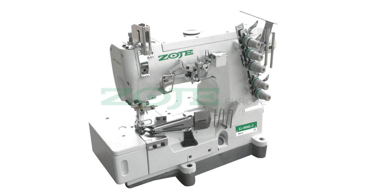 Zoje ZJW4040BD 40Needle Flatbed Chainstich Machine For Binding Gorgeous Sewing Machine Binding
