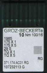 Groz Beckert - 175x1SES Ballpoint Needle for Industrial Button Sewing Machines