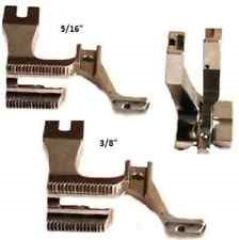 Industrial Sewing Machine Double Piping Feet for Top & Bottom Feed Sewing Machines