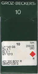 Groz Beckert - UY143GS Size 200/25 Sewing Machine Needle