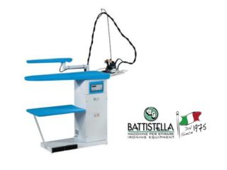 Battistella Argo Boiler with Vacuum Table and Sleeve Buck