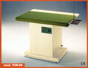 Casoli TCR86 rectangular type heated vacuum table