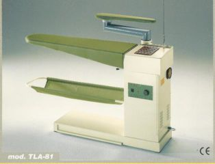 Casoli TLA-81 dress type heated vacuum table with sleeve arm
